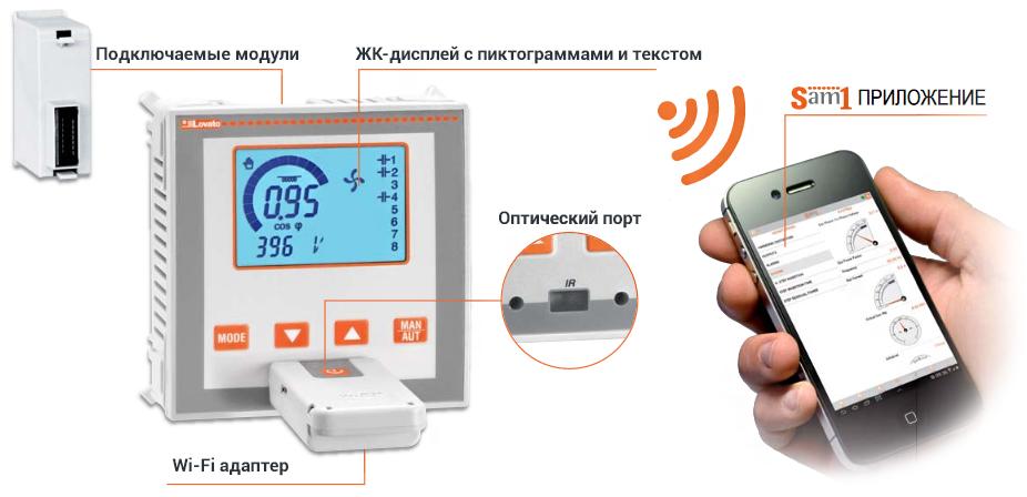 Регуляторы DCRL подключение Wi-Fi от ВП-АЛЬЯНС